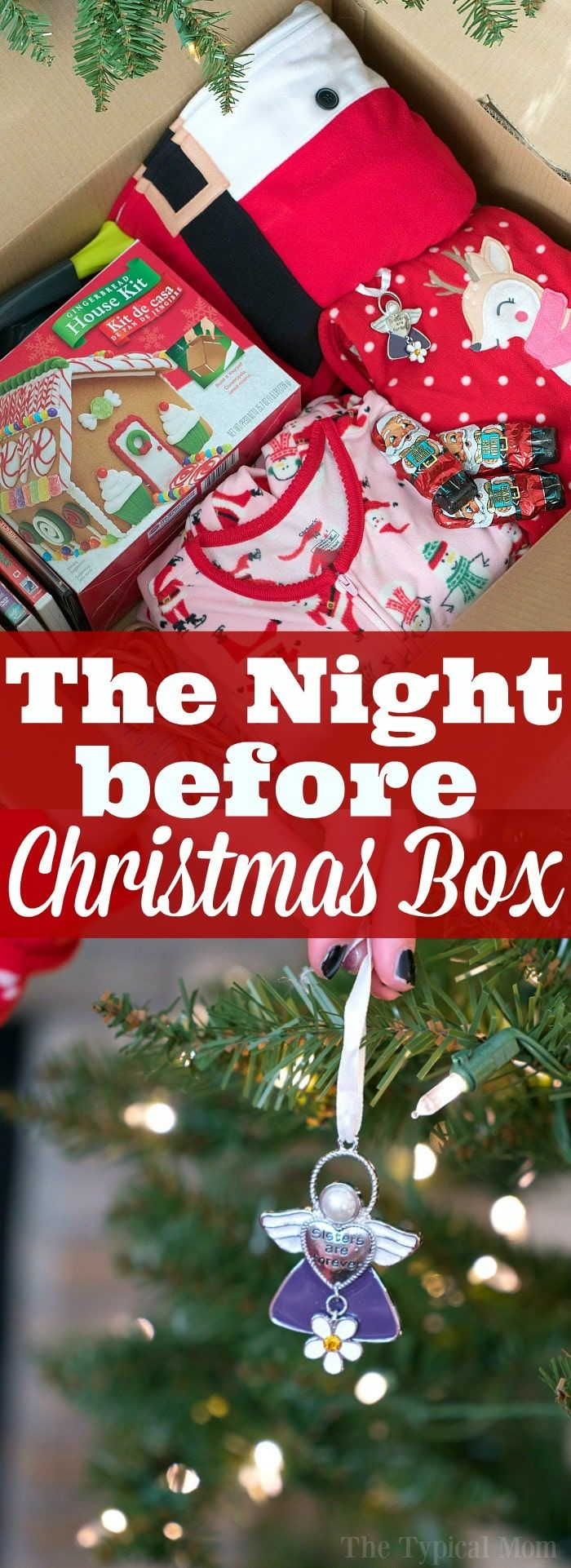 The night before Christmas box tradition is so much fun! Here's how you make one and why my kids look forward to it every year no matter how old they are.