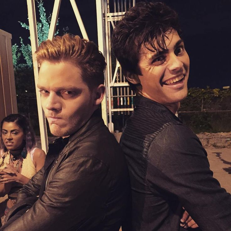"""""""matthewdaddario: Disgust, anger, and... something."""" #Dom #Jace #Alec"""