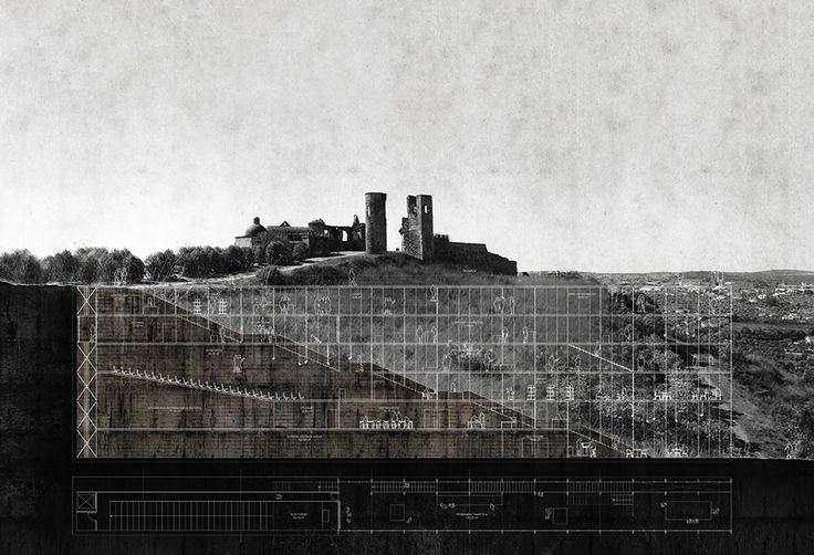 Up on the northern hill, few ruins remain: vertical ghosts, witness of a rich and diversified past.