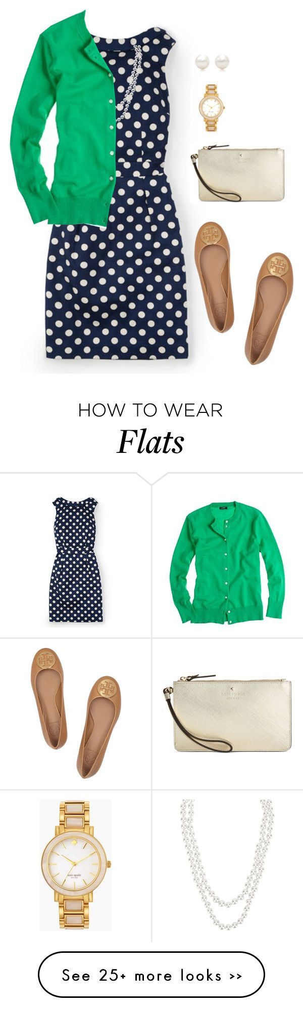 """""""And we know that in ALL THINGS God works for the good of those who love Him. ❤️ encouragement for me today!"""" by sc-prep-girl on Polyvore featuring Boden, Henri Bendel, J.Crew, Tory Burch, Kate Spade and Tiffany & Co."""