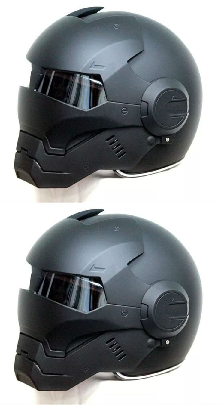 2017 Top hot Black MASEI IRONMAN Iron Man helmet motorcycle helmet half helmet open face helmet casque motocross 610 SIZE:M L XL