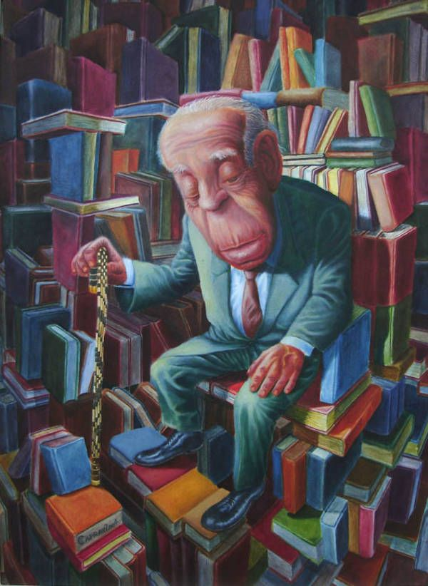 Jorge Luis Borges Universal Library
