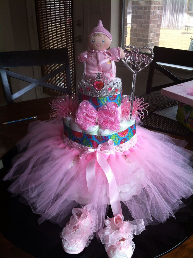 Princess Diaper Cake Princess Diaper Cake Pinterest