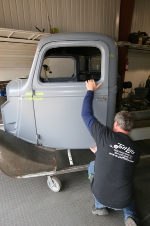 How to repair hinges and align doors on antique, vintage, old, used or classic cars or trucks - step 2