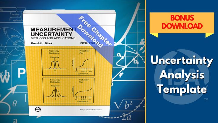 The 5th edition of ISA's book on measurement uncertainty presents a variety of uncertainty experiments plus several new appendices focusing on the specifics of equations and uncertainty analysis methods. Brief author Q&A, plus bonus link for a complete sample chapter from the book, plus a free download of the Uncertainty Analysis Template -- an Excel spreadsheet tool containing equations and summations used in estimating measurement uncertainty…
