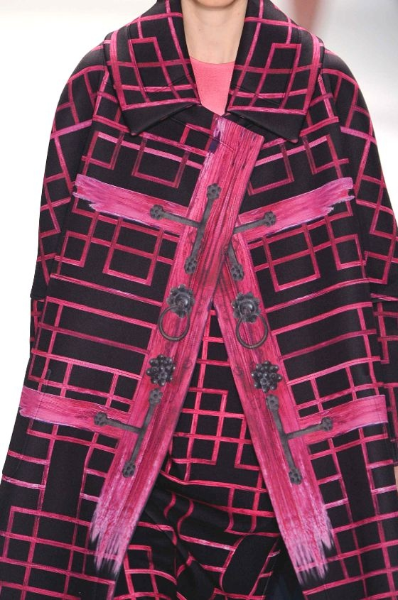 Prints and patterns from New York Fashion Week, womenswear fall/winter 2013/14.  Concept Korea