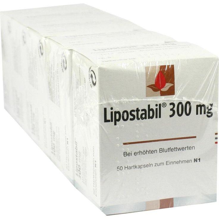 LIPOSTABIL 300 mg Hartkapseln:   Packungsinhalt: 50 St Hartkapseln PZN: 01047423 Hersteller: MCM KLOSTERFRAU Vertr. GmbH Preis: 26,46 EUR…