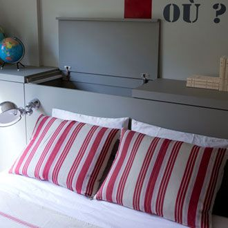 17 best images about bedrooms on pinterest diy headboards ikea hacks and diy bed - Tete cherry bed ...