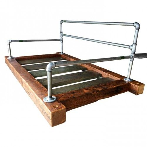 Custom Carolina The Industrial Pipe Hanging Bed Swing For Front Porch