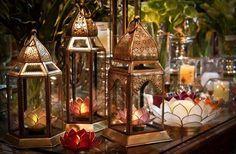 lanternas decorativas marroquinas - Pesquisa Google