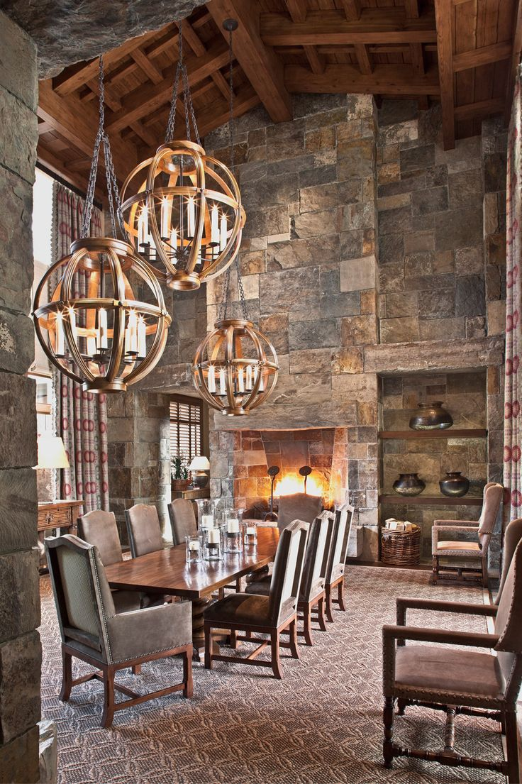best formal dining images on pinterest mountain homes