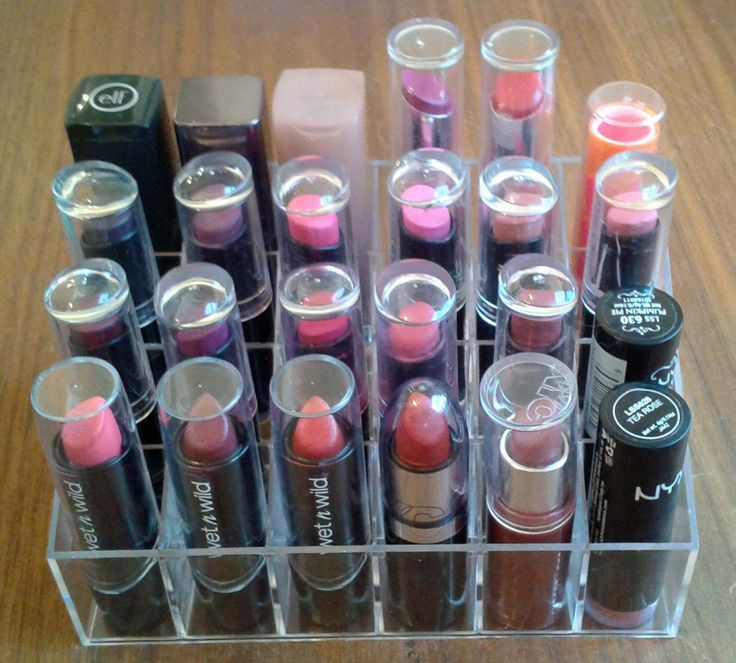 Cheap Acrylic Lipstick Organizer - Lipstick Dupe.