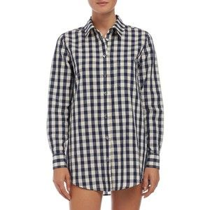 SOLID & STRIPED Cover-Up Shirtdress