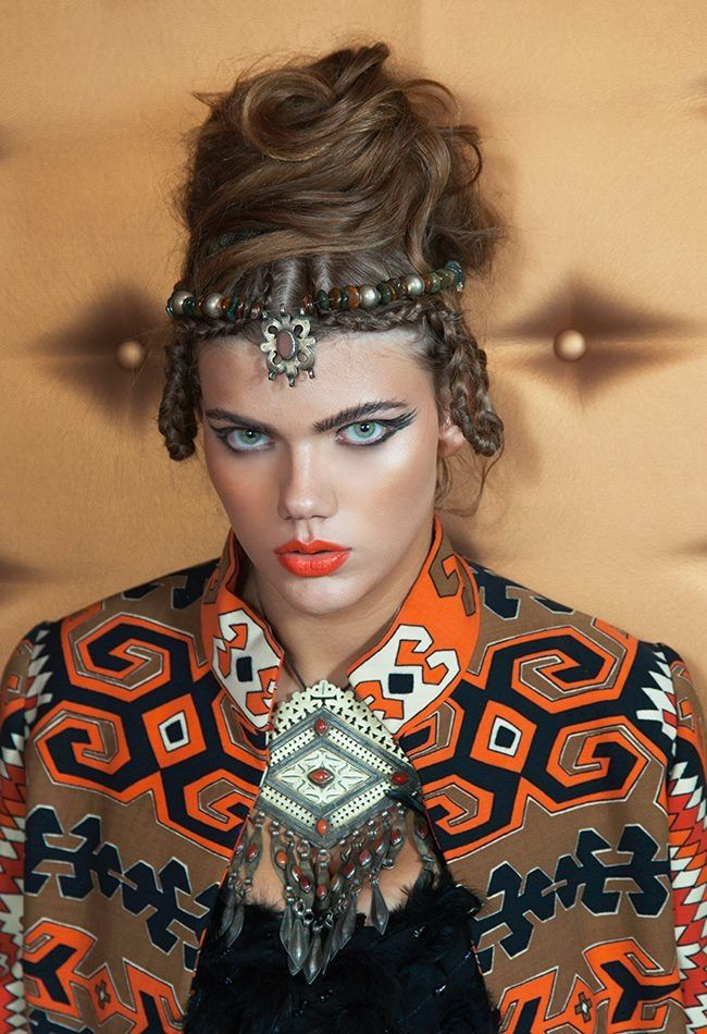 Editorial hair Agapi Stylidou