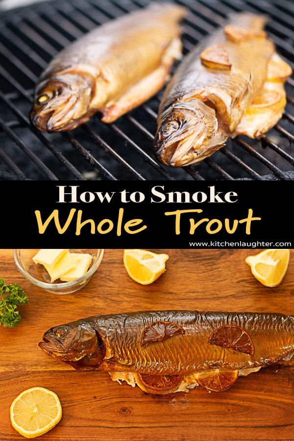 Smoked Trout On The Big Green Egg Recipe Smoked Trout Smoked