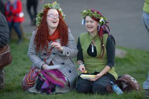 FestivalGirls_1500 - Image by Jeff J Mitchell/Getty Images News