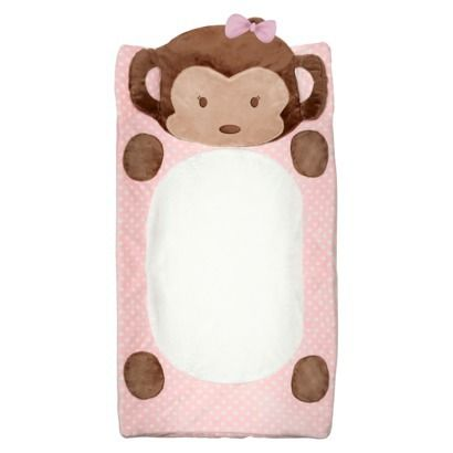 CoCaLo Plush Chging Pad Cover-Girl Monkey....So cute need this!