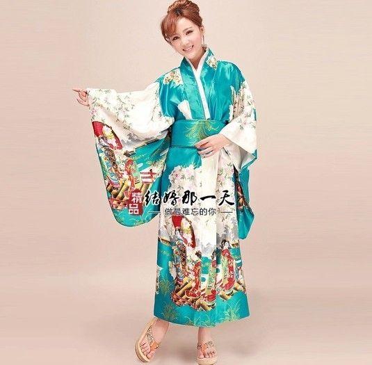 kaufen Sie Kimono Yukata Furisode Geisha sexy Kimono Kimono Seide japanischer Kimono Geisha Kimono online mit kostenlosem Versand nach Deutschland