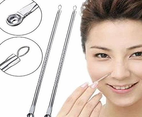 Guilty Gadgets ® Stainless Blackhead Acne Facial Pimple Extractor Facial Cleaner Remover Tool No description (Barcode EAN = 5055748179452). http://www.comparestoreprices.co.uk/december-2016-week-1-b/guilty-gadgets-®-stainless-blackhead-acne-facial-pimple-extractor-facial-cleaner-remover-tool.asp