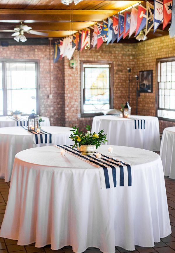 Pin For Later: Sail Away, Sail Away, Sail Away U2014 To This Nautical Themed  Wedding