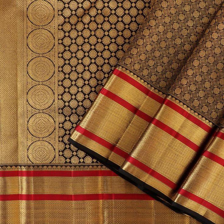 Kanakavalli Kanjivaram Silk Sari 100-01-28036 - Cover View