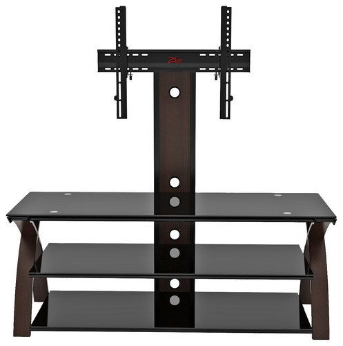 "Z-Line Designs - Willow 3-in-1 TV Mount System for Most Flat-Panel TVs Up to 60"" - Brown"