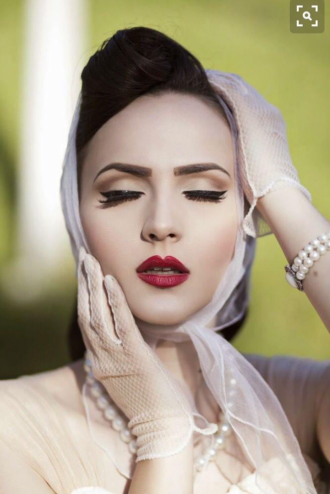 Jaren 50 make-up ✨