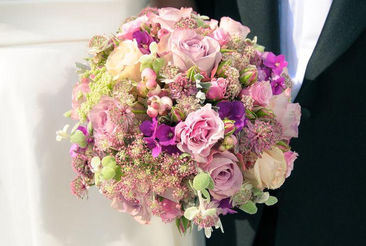 #wedding #bouquet by Ingela Waismaa @Flora varia