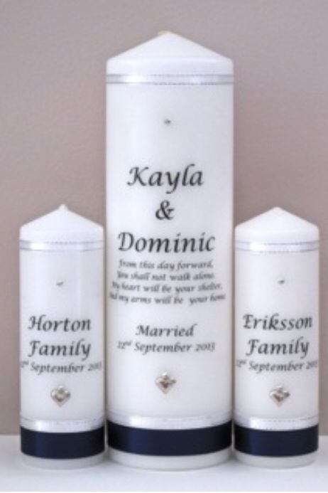 Family Unity Candles