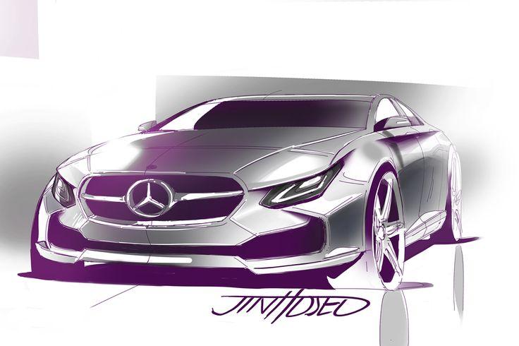 Mercedes-Benz CLS-class concept 2016