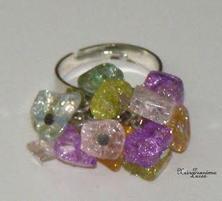 Lucas - Είδη Συσκευασίας: DIY - Φτιάξε το δικό σου δαχτυλίδι με χάντρες! Ιδέες για κατασκευή μπιζού, υλικά και εξαρτήματα.