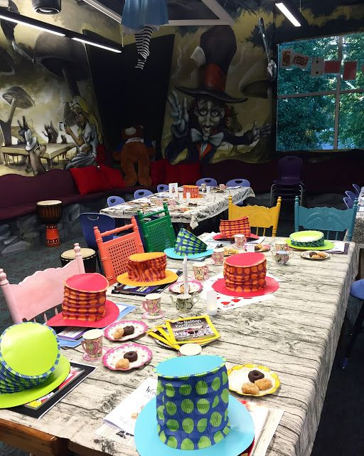 Elementary Shenanigans: Wonderland Book Tasting: Setting a purpose for reading