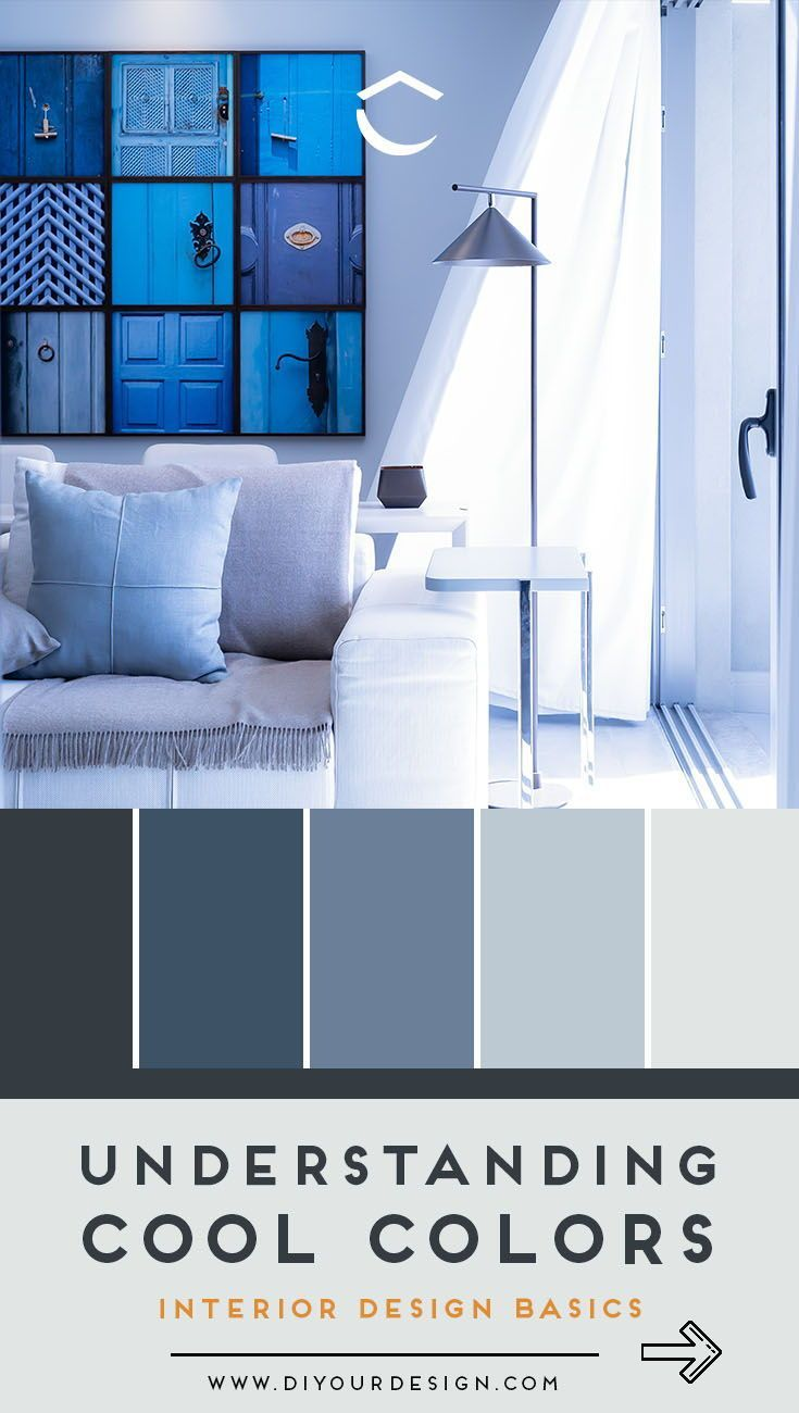 What Are Cool Colors And How To Use Them In Design Interior Design Basics Monochromatic Color Scheme House Color Schemes