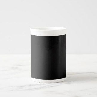 Black Bone China Mug