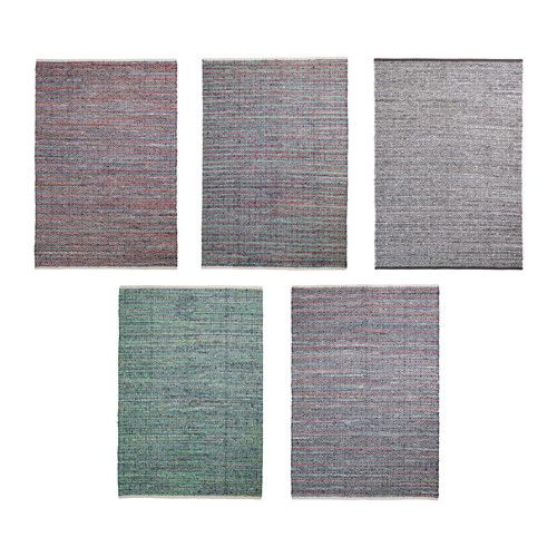 IKEA FORLEV Rug, flatwoven Multicolour 140x200 cm Handwoven by skilled craftspeople, and therefore unique.