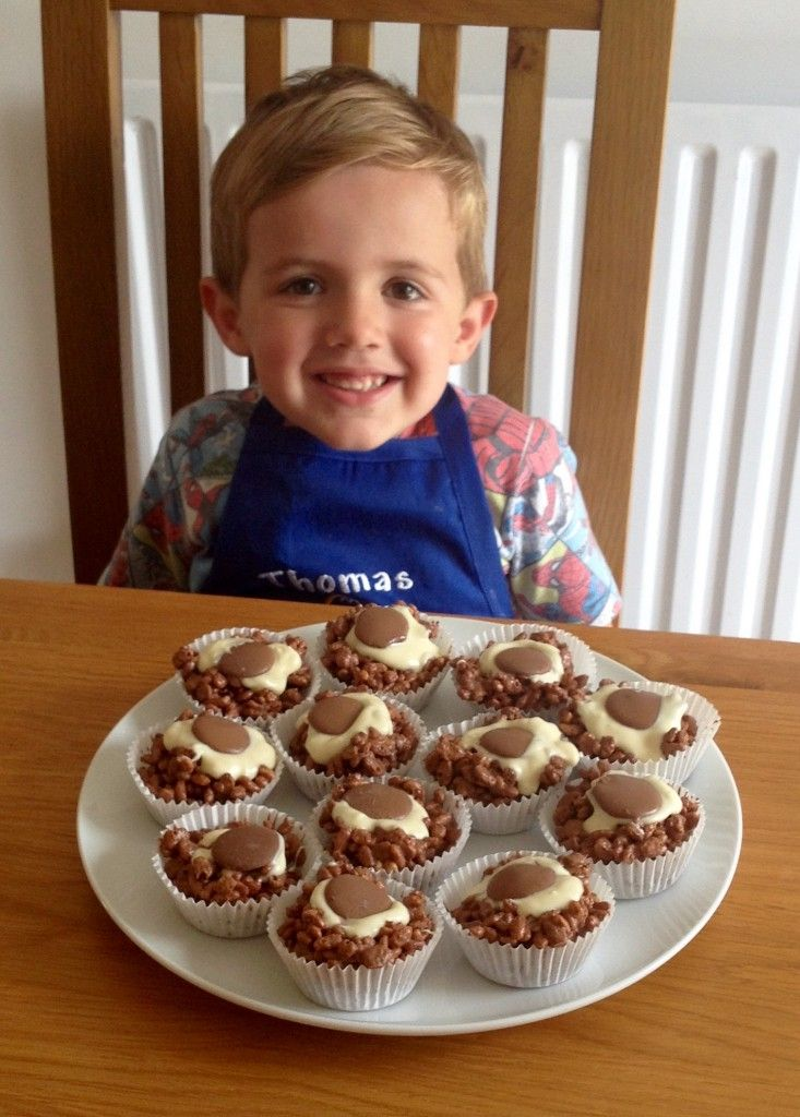 Triple Chocolate Rice Krispie Cakes - Jo's Kitchen
