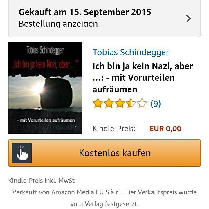 """Gefällt 1 Mal, 1 Kommentare - Tobias Schindegger (@schindegger) auf Instagram: """"Ein #ebook - #kostenlos - aber keineswegs umsonst.  #debk #ProAsyl """""""