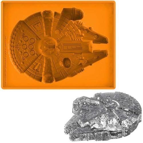 Star Wars Silicon Ice Tray - Deluxe Milennium Falcon