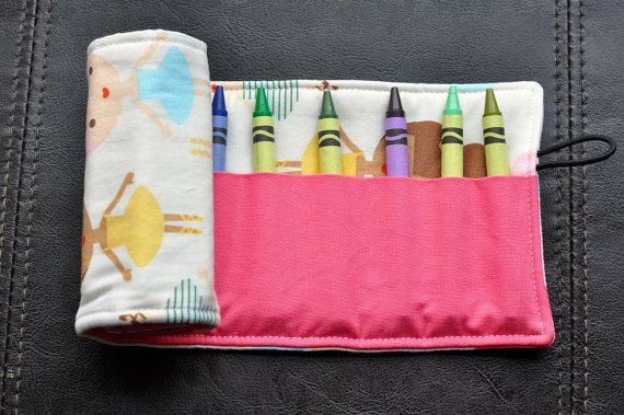 Girlfriends Crayon Cozy/Roll Including by SpoonerSistersDesign, $15.00