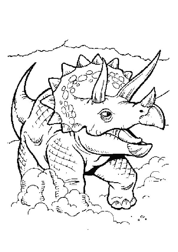 63 best Coloriages de dinosaures images on Pinterest DIY