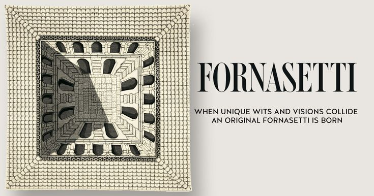 Rug Cortile by Fornasetti.