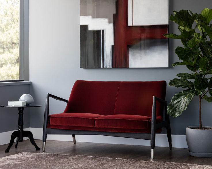 FRISCO SETTEE - GIOTTO MARSALA - Loveseats - Living - Products