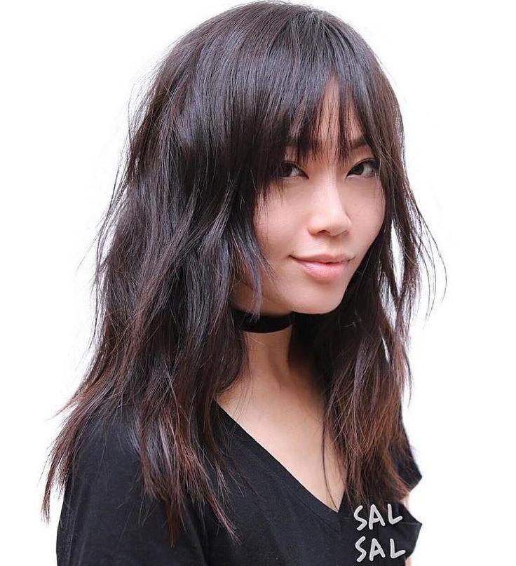 Asian long layered haircuts