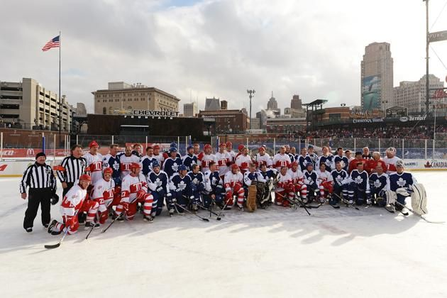 Winter+Classic+Alumni+Game | 2014 Bridgestone NHL Winter Classic - Alumni Games | Ice Hockey Photos ...