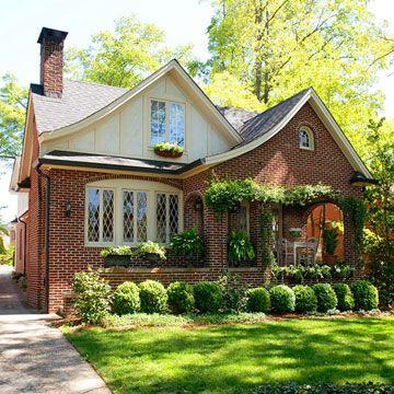 brick tudor style homes | Brick Tudor Style Cottage...That's exactly the style of house I want ...