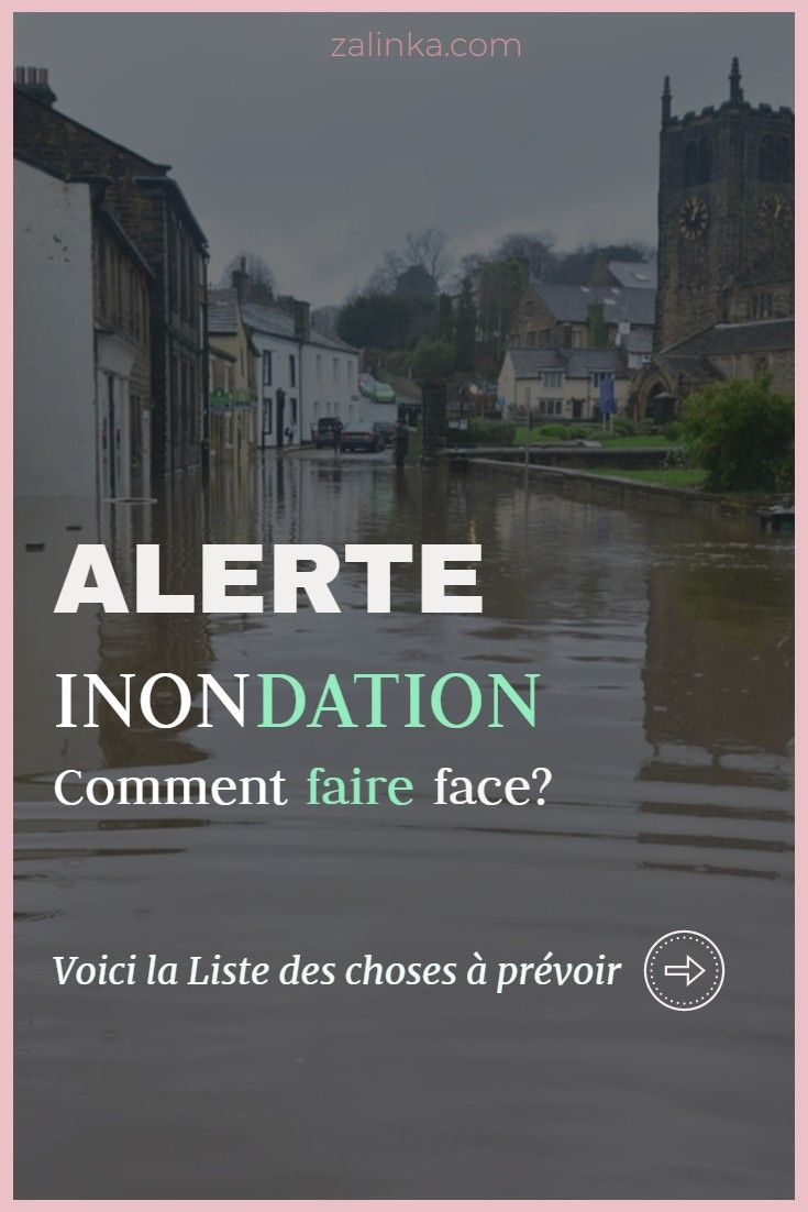 Inondation Comment Faire Face En 2020 Sac De Sable Comment Faire Meteo France