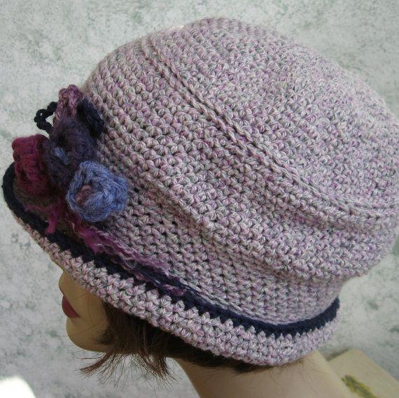 Crochet Hat Pattern Womens Brimmed Mercy Street by kalliedesigns