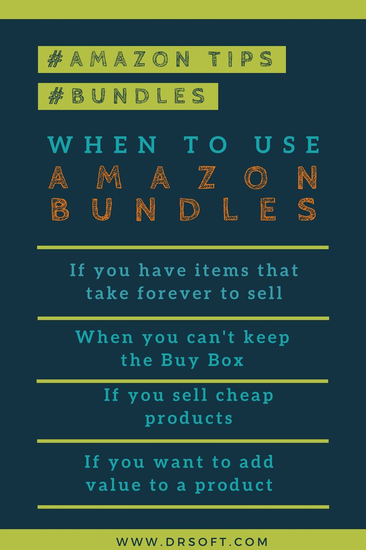 #Amazon bundling products means offering a diversity of related products as a single package. Often the bundles are offered at a discount price so theyadd value for the customerwhen bought as a set of items as opposed to buying the items individually. #ecommerce #amazontips #amazonselling #ecommercetips