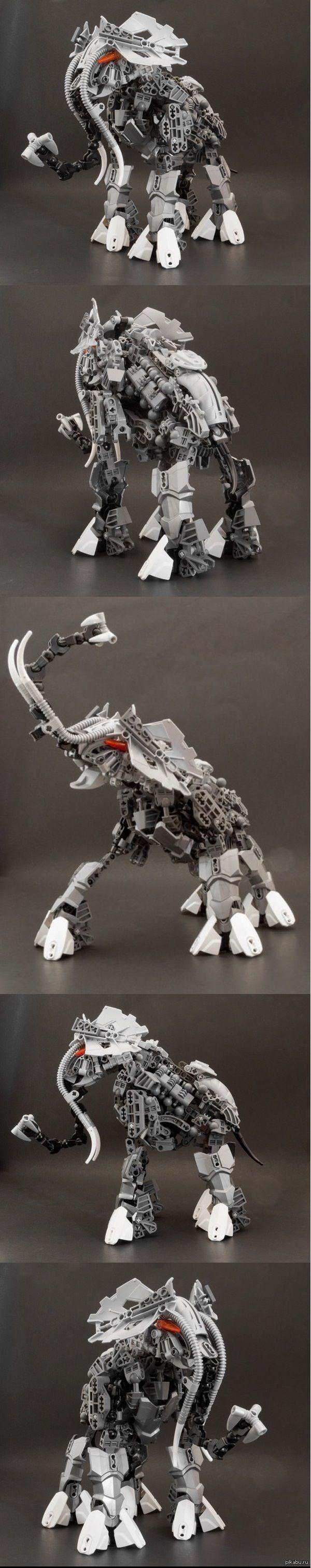 Слон из лего by Patrick Biggs