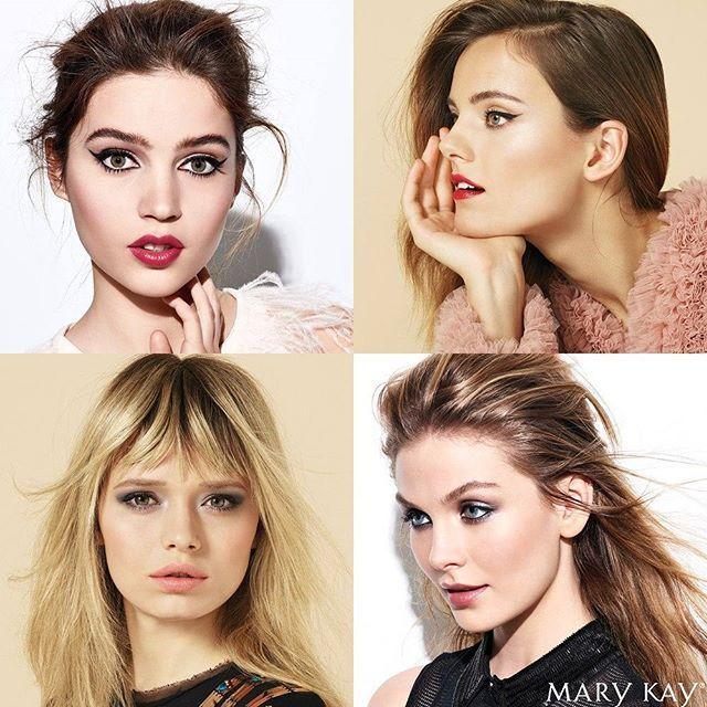 Не можем выбрать, какой из новогодних модных образов нравится нам больше 💗  Советы визажиста по каждому из них ищите по хэштегу #модныйобразmarykay  И не забудьте про бесплатные мастер-классы Mary Kay®, на которых можно создать любой праздничный макияж!  #marykayдлятебя #новыйгодmarykay